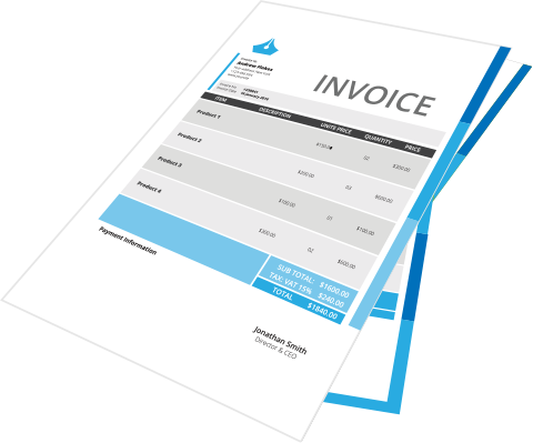invoice graphic
